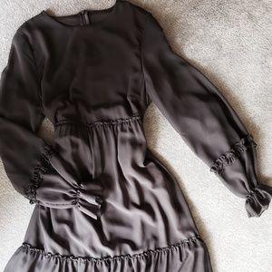 Dresses & Skirts - Sheer Ruffle Dress
